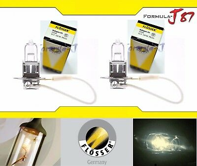 Flosser H3 13330 130W Two Bulbs Headlight Fog Lamp Replacement High Watt Rally