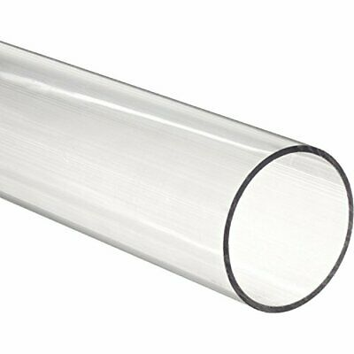 """12 PACK - 11-7/8"""" Acrylic Round Tube - 1/8"""" ID x 1/4"""" OD x 1/16"""" Wall (Nominal)"""