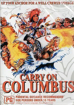 Carry On Columbus - Rik Mayall PAL ALL REGION NEW SEALED COMPATIBLE DVD