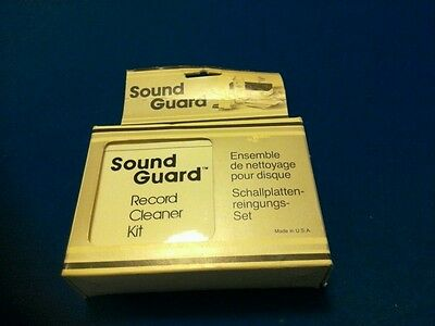 VINTAGE Sound Guard record  Cleaning Kit