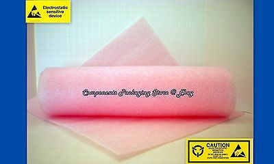 """Cushion Foam Anti Static for Electronic Devices 1/8""""  X 12"""" X 12"""" - 10 Sheets"""