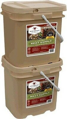 Wise Grab Go 120 Freeze Dried Real Meat Meals Food Storage MRE Prepper Emergency
