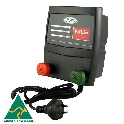JVA M1.5 Mains Electric Fence Energiser/charger  - 1.5J 15km
