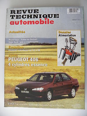 revue technique automobile RTA PEUGEOT 406 essence n° 592