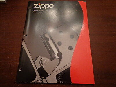 Full Size Zippo Lighter Catalog 2005 Unused