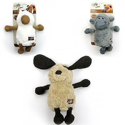 All For Paws AFP Lamb Cuddle Flopper Dog Puppy Plush Soft Toy