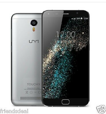5.5'' 4G LTE UMI TOUCH X Smartphone Android 6.0 Marshmallow 2GB 16GB 4000mAh