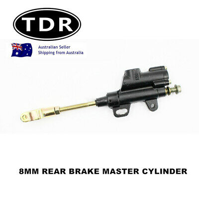8mm Back Rear Hydraulic Brake Master Cylinder Dirt Pit Bike Honda Yamaha KLX