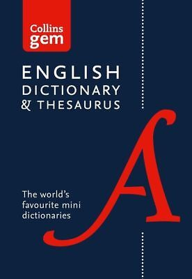 Collins English Dictionary and Thesaurus Gem Edition