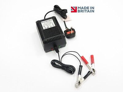 Smart 24V 1A Sealed Lead Acid Battery Charger Intelligent Automatic Trickle