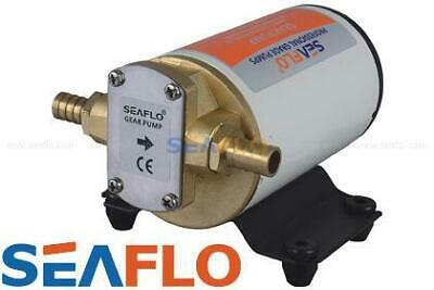 12v SEAFLO IMPELLOR GEAR PUMP TRANSFER WATER diesel FUEL oil MARINE agriculture