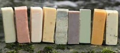 Homemade Soap 4.5 oz Big Bars Many Varieties You Choose Scent Vegan & Goats Milk