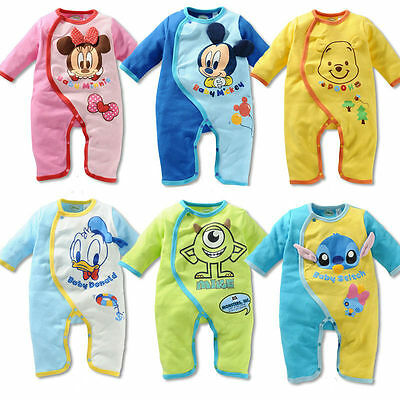 cotton 1pcs Baby infant boys girl  bodysuit jumpsuit baby boys clothes one piece