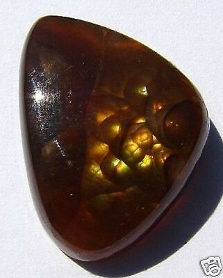 17.03 ct Fiery Freeform Mexican Fire Agate Cabochon!