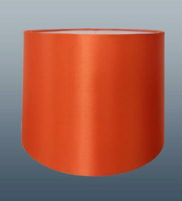 8 10 or 12in Empire Silk Fabric Lampshade Table Lamp Ceiling Light Shade ORANGE
