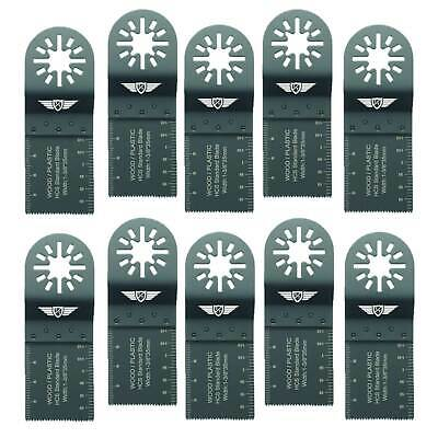 TopsTools 35mm Fine Tooth Blades for Fein Multimaster Bosch Makita Multi tool