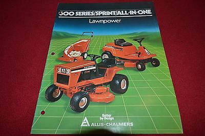 Allis Chalmers 600 Series Lawn Tractor Dealer's Brochure DCPA