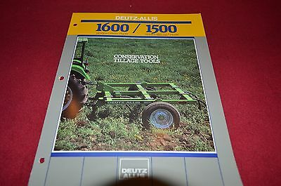 ALLIS-CHALMERS conservation tillage 7 keys to success Booklet brochure