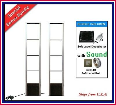 Advanced Wide-Body EAS RF 8.2 MHz Checkpoint Compatible Security Antenna System