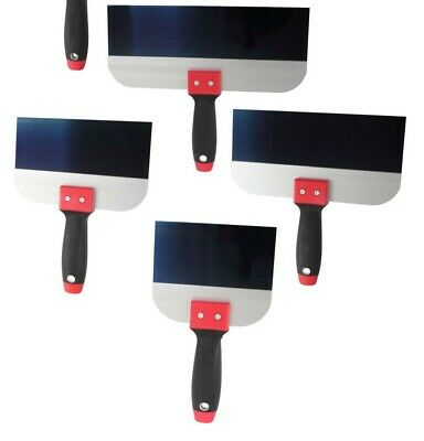 "ProDec Taping Knives 5 Sizes: 6"" 8"" 10"" 12"" & 14"" Platerers Tool Plastering"
