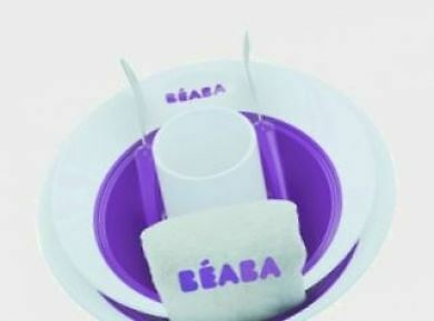 Beaba Ellipse Dinner Set - Gypsy / Purple