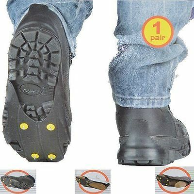 Non Slip Snow Ice Grips Cleats Treads For Shoes Boots Heels Ice Traction Slip-on
