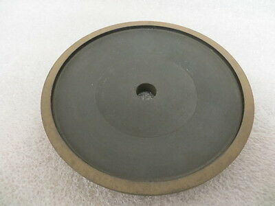 "6"" x 3/4"" x 5/8"" Arbor 4A2P Diamond Facing Grinding Wheel 400 Grit 100 Con. New"
