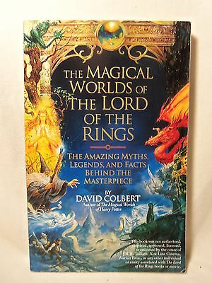 The Magical Worlds of The Lord Of The Rings by David Colbert Tolkien