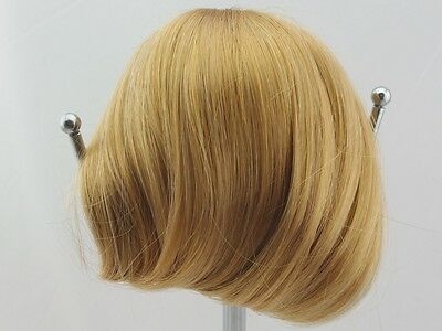 """American Girl Nellie Doll Wig size 10-11"""" Goldend Brown Straight W014"""