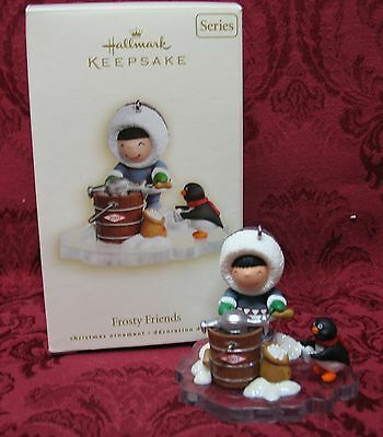 HALLMARK 2007 SERIES ORNAMENT~#28 IN THE SERIES~FROSTY FRIENDS