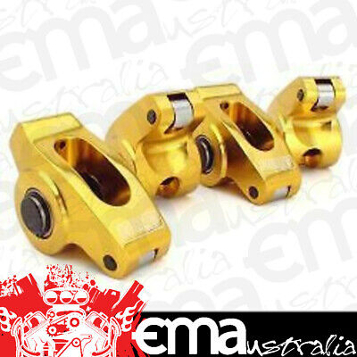 """Comp Cams Ultra Gold Roller Rockers Chev Bb 1.7 Ratio 7/16"""" Stud Co19021-16"""