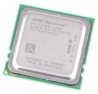 AMD OPTERON 2356 Quad Core CPU OS2356WAL4BGH / 4x 2.3 GHz /  2 MB L3 / Socket F