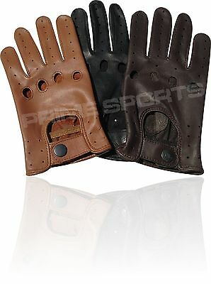 Top Quality Real Soft Leather Mens Driving Gloves -D502