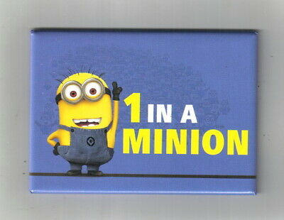 Despicable Me Movie 1 In A Minion Art Image Refrigerator Magnet, NEW UNUSED