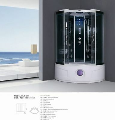 Luxury Massage Shower with Bath 081  PRODUCT CAN BE DELIVERY NATION WIDE