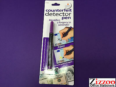 Counterfeit Money Detector Pen Helps Indentifies A Forgery In Seconds Free Post