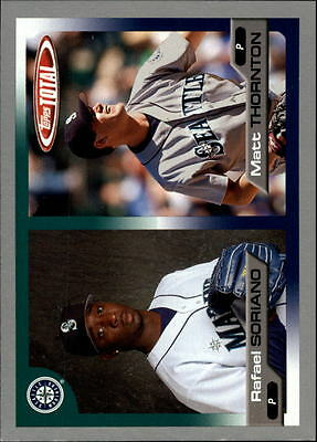 2005 (BB) Topps Total Silver #629 R.Soriano/M.Thornton