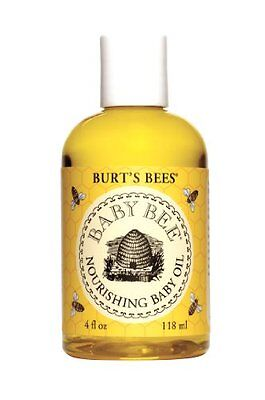 Burts Bees Baby Bee Nourishing Baby Oil  4 Fluid Ounces (Pack of 2)