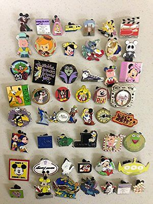 Disney Official Trading Pin Lot of 100 Lapel Collector Pins