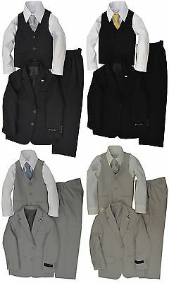 Johnnie Lene Dress Up Boys Designer Suit Set #JL5040