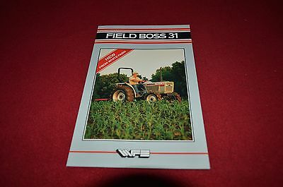White Field Boss 31 Tractor Dealer's Brochure DCPA