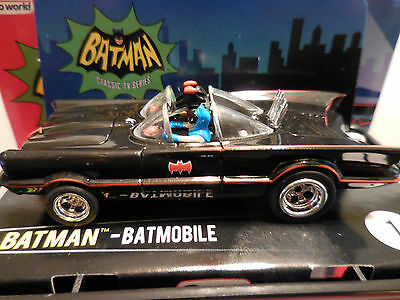 "AUTO WORLD ~ Batmans ""Batmobile"" ~ NEW IN JEWEL CASE ~ Fits AFX, AW, JL"