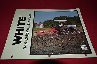 White Tractor 348 3242 Plow Dealer's Brochure DCPA