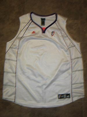 Adidas WNBA Practice Jersey size XL *NEW* white purple black Phoenix Suns top