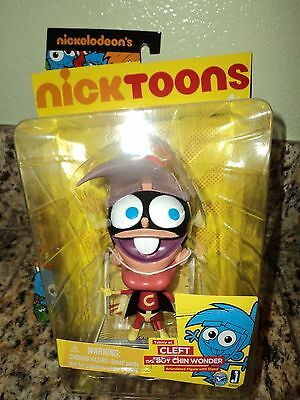 FAIRLY ODDPARENTS CLEFT BOY CHIN WONDER TIMMY TURNER ACTION FIGURE NICKELODEON