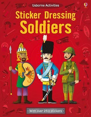 Soldiers Sticker Dolly Dressing (Paperback) 180+ Stickers