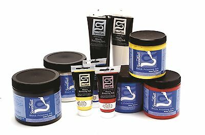 Speedball Water Soluble Block Ink - Choose Size/Colour lino printing ink
