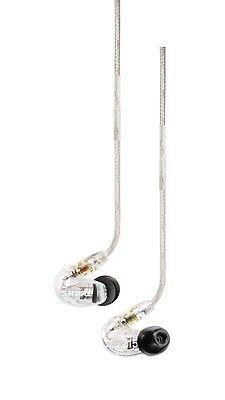 Shure SE215-CL Single-Driver Sound Isolating Earphones with Clear Housing