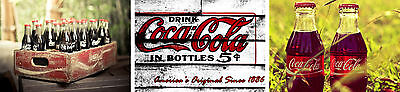 Coke Cola Vintage Art Print Poster Set - A4 A3 A2 Sizes