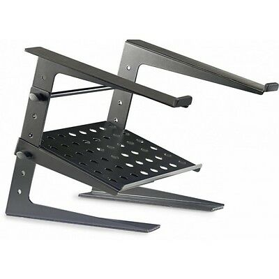 Stagg DJS-LT20 DJ Height Adjustable Laptop Stand with tray